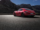 The Cayman looks menacing from the rear