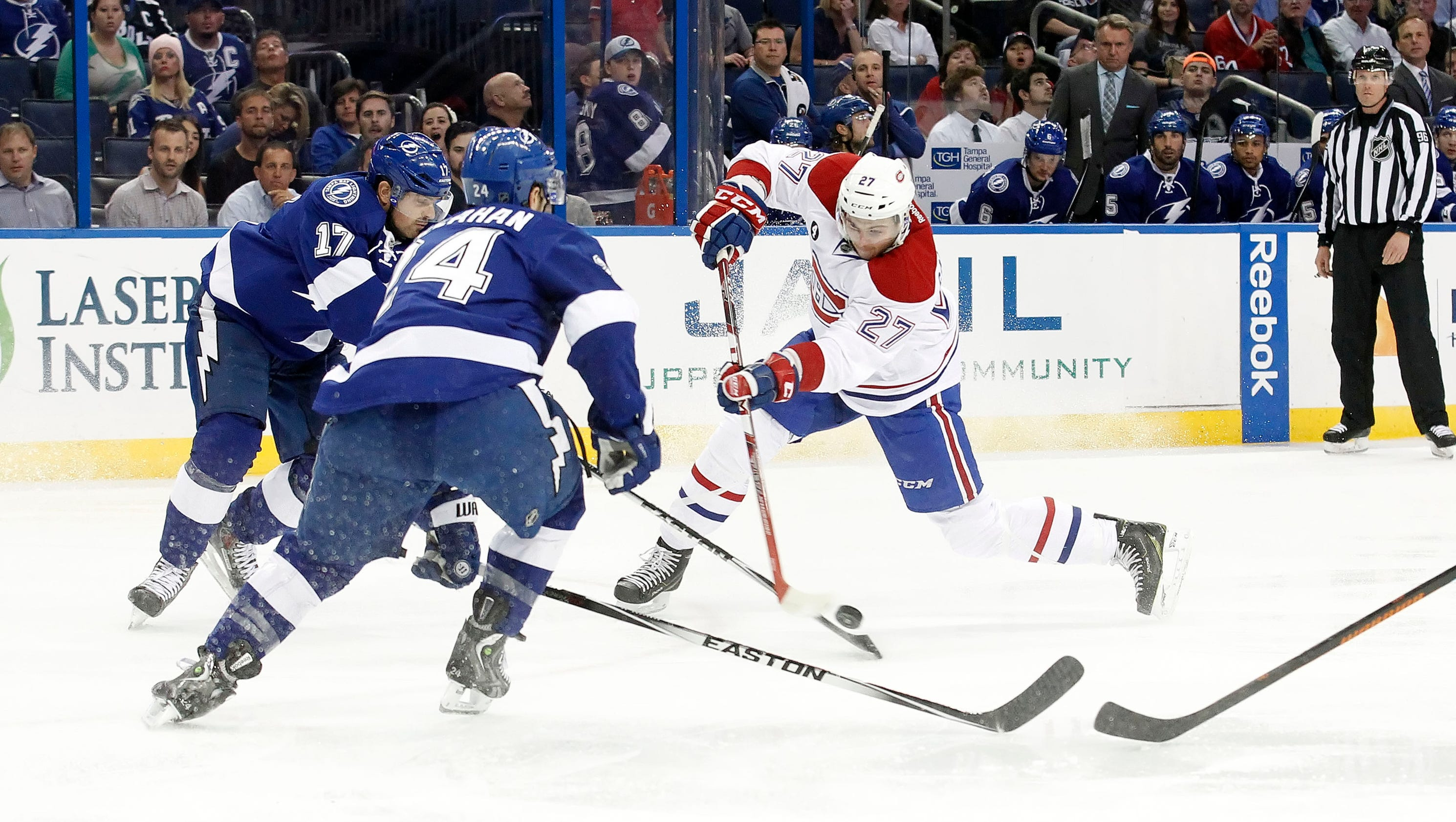 Stamkos Scores 2 Goals Lightning Beat Canadiens 4 2