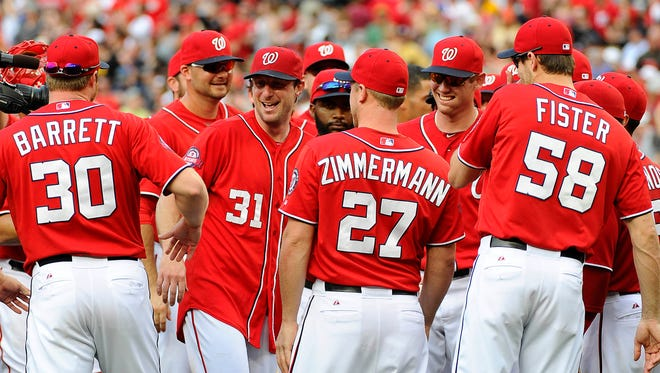 Max Scherzer has led the way for the Nationals' staff all season, and now he has a no-hitter to his credit.