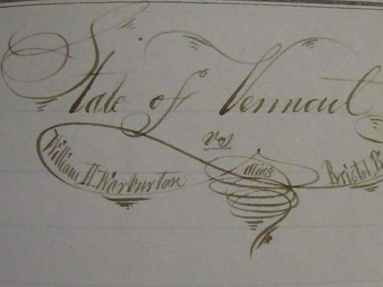 Wartburton 1856, detail