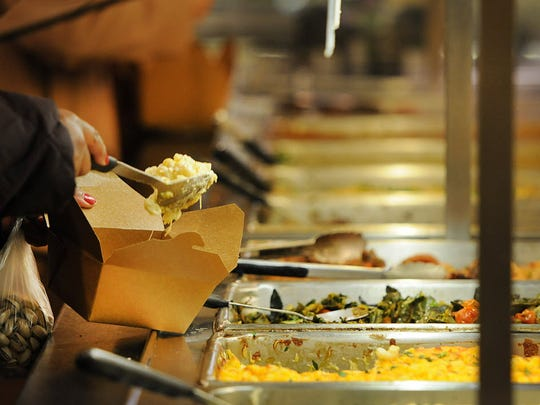 Environmentalists advocate using more bio-degradable takeout boxes like those made of cardboard.