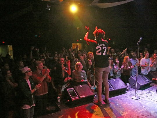 Milwaukee rapper WebsterX performs at the Miramar Theatre