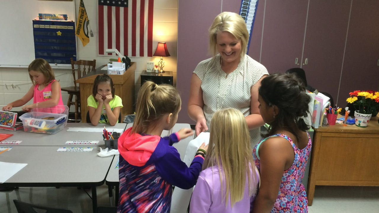 Marshfield students had back to class for the first day of school