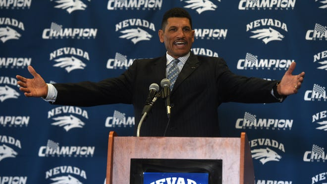 New Wolf Pack head football coach Jay Norvell introduced his 2017 signing class Wednesday.
