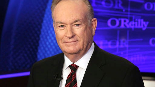 """Bill O'Reilly of the Fox News Channel program """"The O'Reilly Factor,"""" poses for photos in New York."""