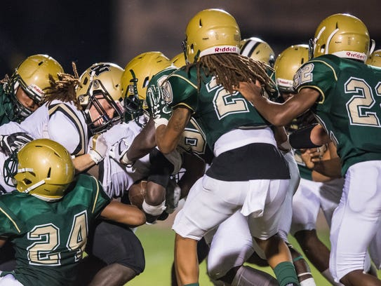 The Acadiana Wreckin' Rams have used a swarming defense