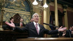 Michigan Gov. Rick Snyder on Jan. 16, 2014.