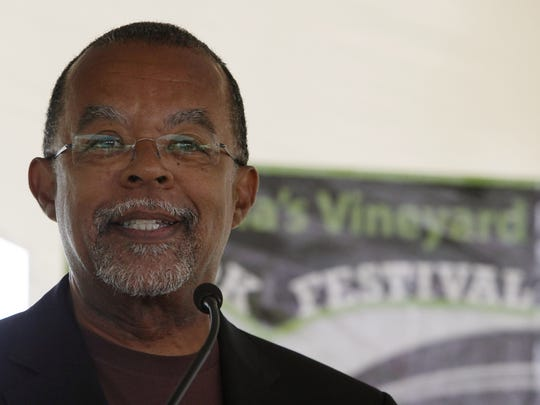 Harvard professor Henry Louis Gates, Jr., speaks during the Martha's Vineyard book festival in Chilmark, Mass., Sunday morning, Aug. 2, 2009.