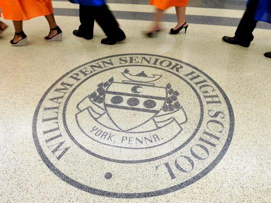 William Penn Senior High School seniors must meet Bearcat Bold requirements to walk at graduation.