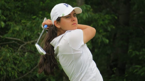 Pingry junior Ami Gianchandani won the title at the NJSIAA 17th Girls Golf Championship