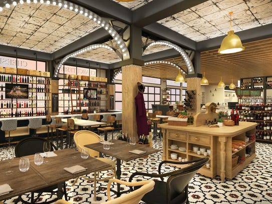 A rendering of the potential look of The Emporium Kitchen