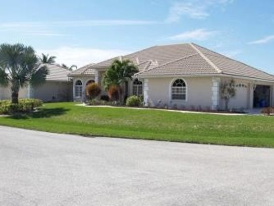 This home at 2518 SE 22nd Pl in Southeast Cape Coral