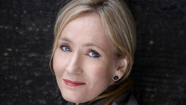 J.K. Rowling of 'Harry Potter' fame.