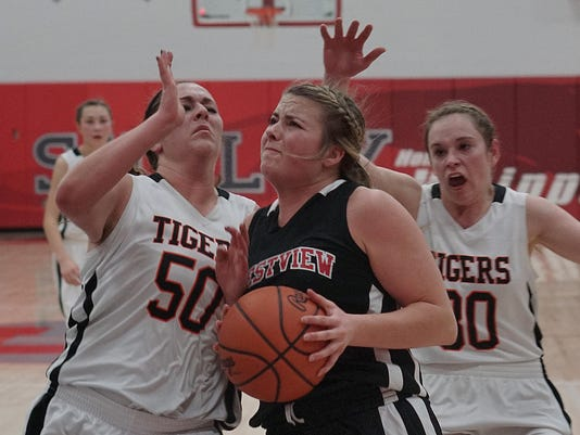 003 MNJ division III girls district doubleheader