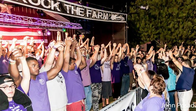 The 2016 Rock the Farm festival will take place Aug. 27 at Brookdale Community College.