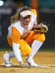 Tennessee pitcher Caylan Arnold was named SEC Freshman