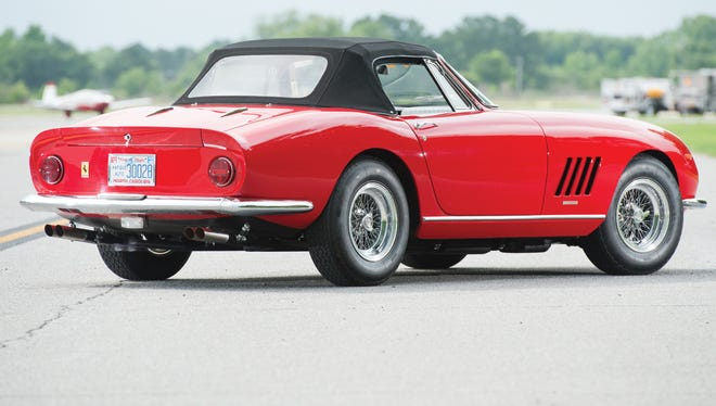 This 1967 Ferrari sold at the RM Auction for a record $27.5 million in Monterey, Calif.