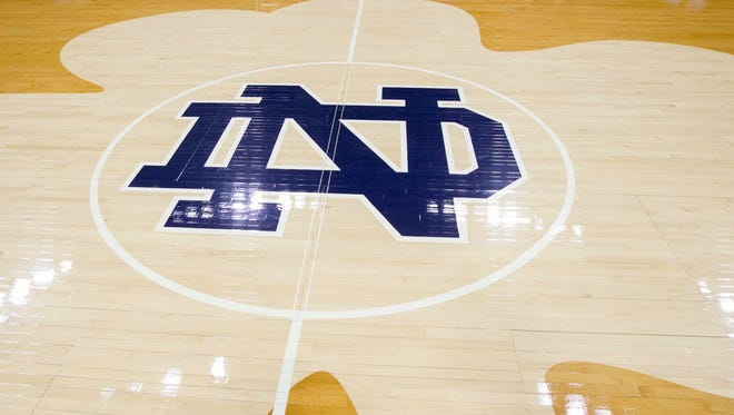 The Notre Dame women's basketball team arrived in Oklahoma late after their plane was diverted to avoid bad weather.