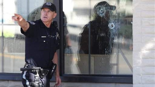 Scenes from the Carson City IHOP shooting