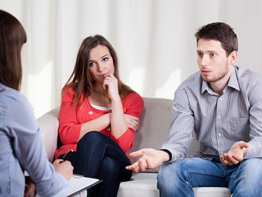 Marriage counseling can be tough for counselors as well as those seeking counsel.