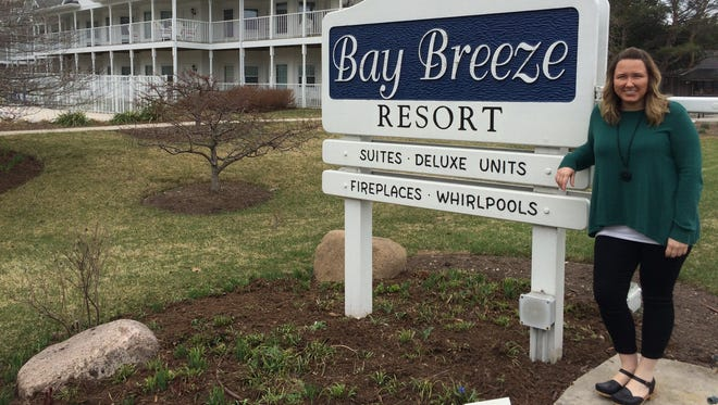 Bay Breeze Resort Director of Operations and Marketing, Rachel Willems, is a young professional and loves her Door County-based career.