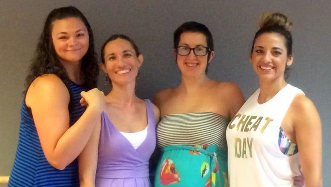 Luna Star Dance Studio instrructors are, from left, Randi Morrow, Sarah Williams, Mila Jackson and Claudia Pena.
