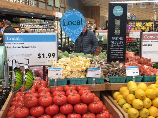 About 250 customers welcomed Whole Foods to Bridgewater