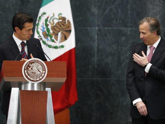 Enrique Pena Nieto,Jose Antonio Meade