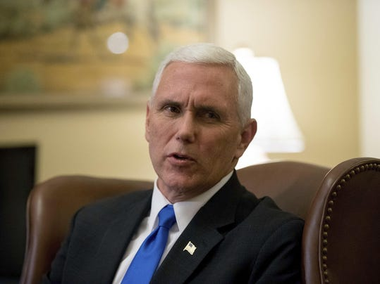 Vice President Pence left records undisclosed in Indiana