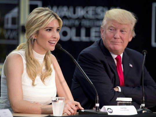 Donald Trump,Ivanka Trump