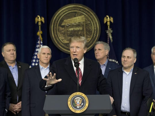 Donald Trump, Mitch McConnell, Mike Pence, Kevin McCarthy, Steve Scalise, Rex Tillerson
