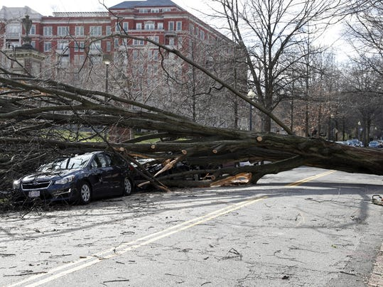 Powerful East Coast storm kills 9, triggers coastal flooding and leaves millions without power
