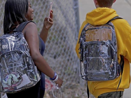 Florida School Shooting Backpacks