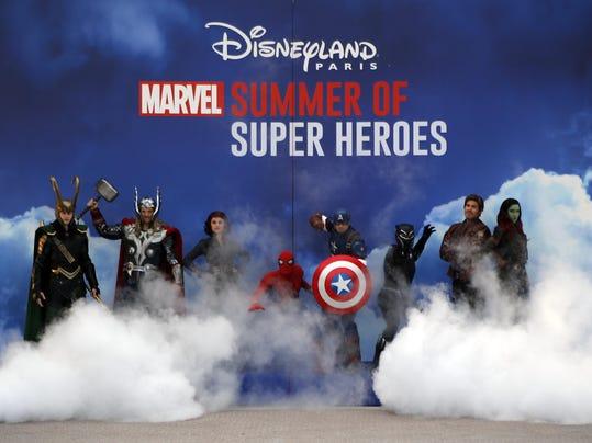 CORRECTION France Disneyland Marvel