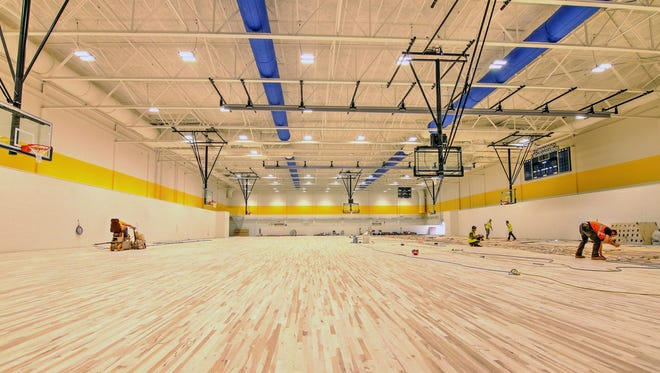 A recent picture of the SC4 Fieldhouse, which will officially open Oct. 3