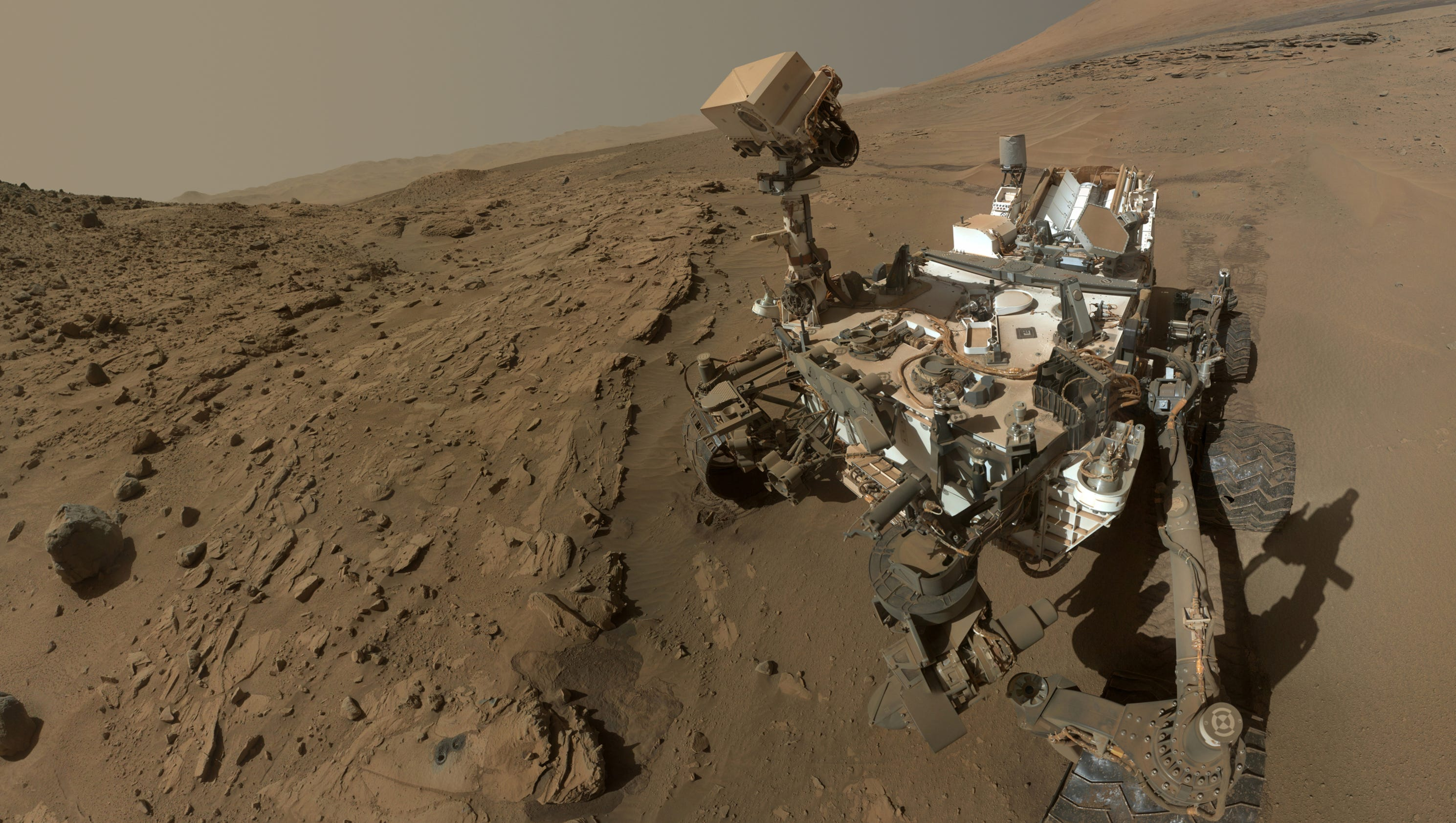 NASA Curiosity Rover unearths building blocks in 3-billion-year-old organic matter on Mars