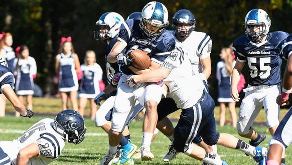 Asheville School's football team has a 5-2 record.