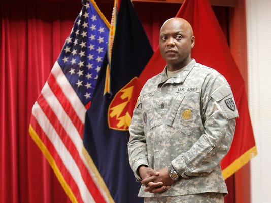 Command Sgt. Maj. Darrin L.M. Jefferies, the senior enlisted soldier with the 32nd Army Air and Missle Defense Command, plans to retire in the next year.