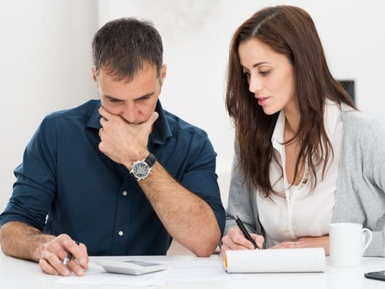 Make a weekly money date with your partner to discuss the previous week's spending and to look at the upcoming week to avoid surprises.