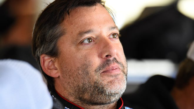 NASCAR Sprint Cup Series driver Tony Stewart during practice on Sept. 13.