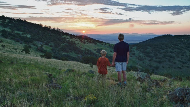 """The Continental Divide National Scenic Trail, the """"King of Trails,"""" navigates dramatically diverse ecosystems through mountain meadows, granite peaks and high-desert surroundings. The trail crosses from the Rocky Mountains to Mexico for 3,100 miles."""