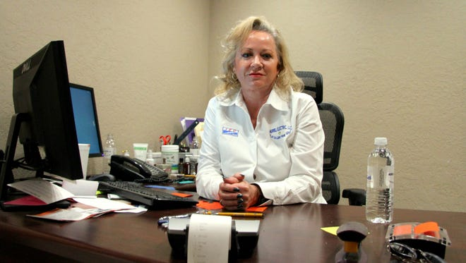 Valerie Murrill is co-owner of Carlsbad's Murrill Electric and Pecos Valley Construction.