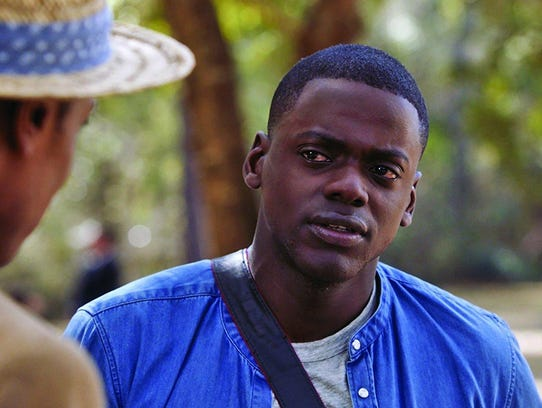 "Daniel Kaluuya in a scene from ""Get Out."""