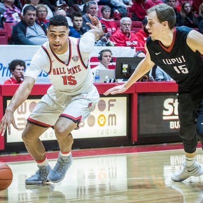 IUPUI defeated Ball State 73-62 at Worthen Arena Saturday,