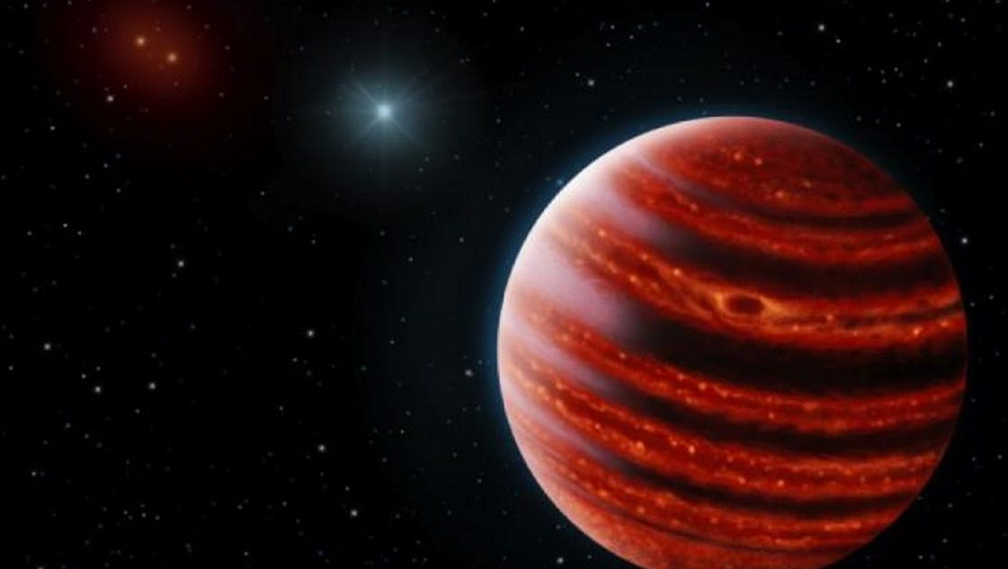 Astronomers spot young, 'Jupiter-like' planet