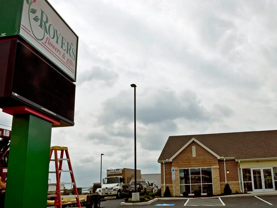 The new Royer's Flowers & Gifts, is opening September