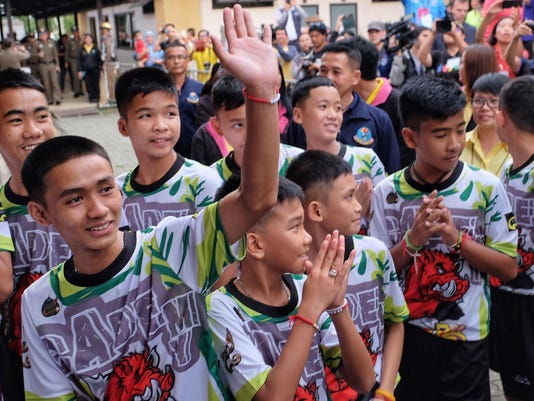 "Thailand Cave Rescue For ""Wild Boars"" Soccer Team"