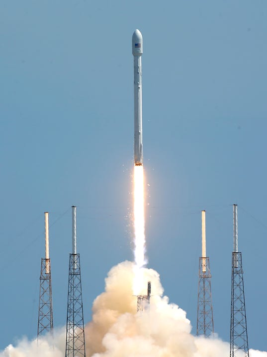 Liftoff! SpaceX rocket launch deploys 6 satellites