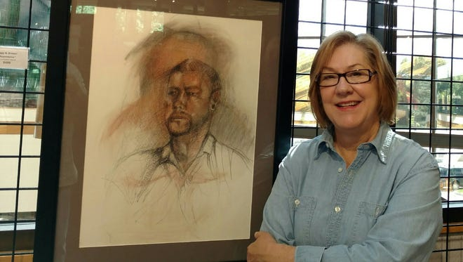 The Fine Arts Gallery hosts an exhibit featuring the work of Peggy Brewer.
