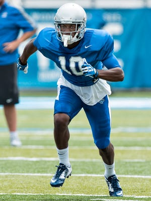 Wide receiver Ty Clemons has a shot at playing this year after taking a redshirt during the 2014 season. Clemons played quarterback in high school.
